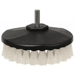 Drill Brush- Light-Duty (White Bristle)